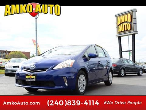 2014 Toyota Prius v for sale in Laurel, MD