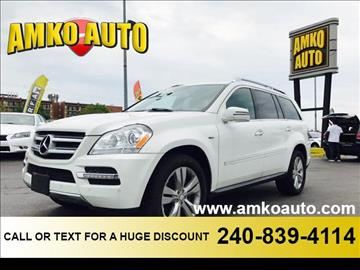 2012 Mercedes-Benz GL-Class for sale in Laurel, MD