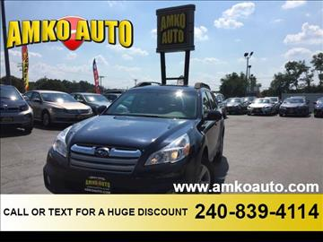 2013 Subaru Outback for sale in Laurel, MD