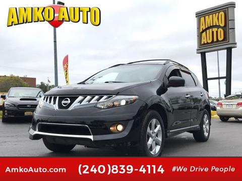 2009 Nissan Murano for sale in Laurel, MD