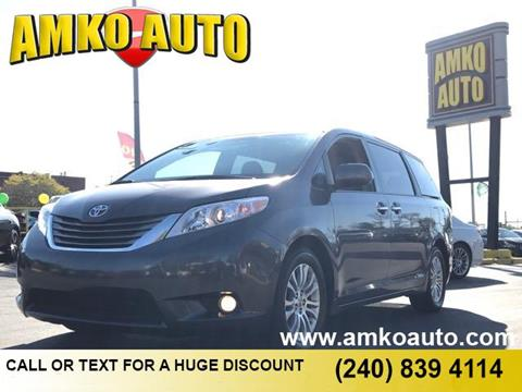 2016 Toyota Sienna for sale in Laurel, MD