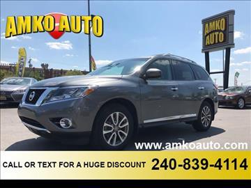 2015 Nissan Pathfinder for sale in Laurel, MD
