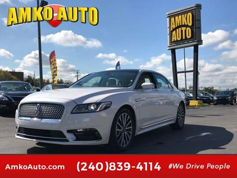 2017 Lincoln Continental for sale in Laurel, MD