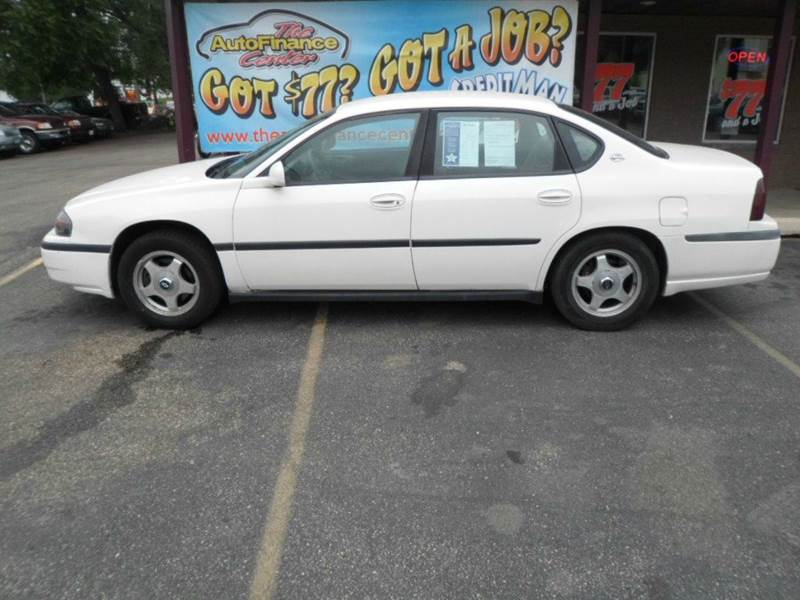 2001 Chevrolet Impala 4dr Sedan - Rochester MN