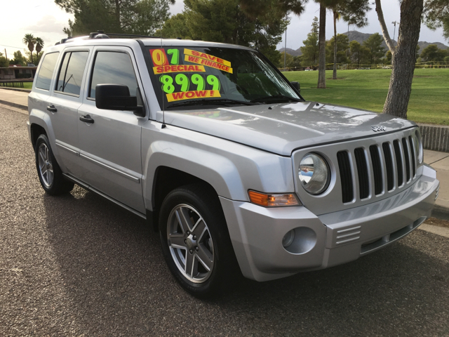 2007 jeep patriot 4x4 limited 4dr suv in phoenix az buy. Black Bedroom Furniture Sets. Home Design Ideas
