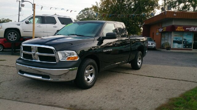 2012 RAM RAM PICKUP 1500 TRADESMAN 4X2 4DR QUAD CAB 63 F black abs - 4-wheel airbag deactivatio