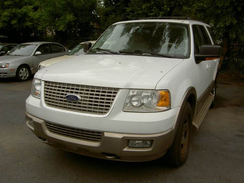 2004 FORD EXPEDITION EDDIE BAUER 4WD 4DR SUV white runs and drives great clean inside out it h