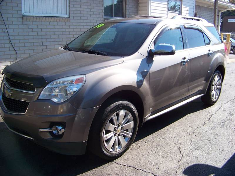 2010 CHEVROLET EQUINOX LTZ AWD 4DR SUV gray looks and runs great leather interior heated seats