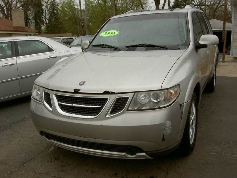 2006 SAAB 9-7X 42I AWD 4DR SUV silver runs and drives great clean inside out with very minor r