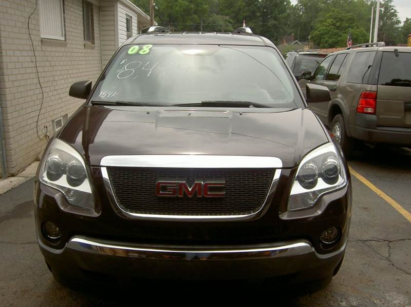 2008 GMC ACADIA SLE-1 AWD 4DR SUV unspecified 2-stage unlocking doors 4wd type - full time abs