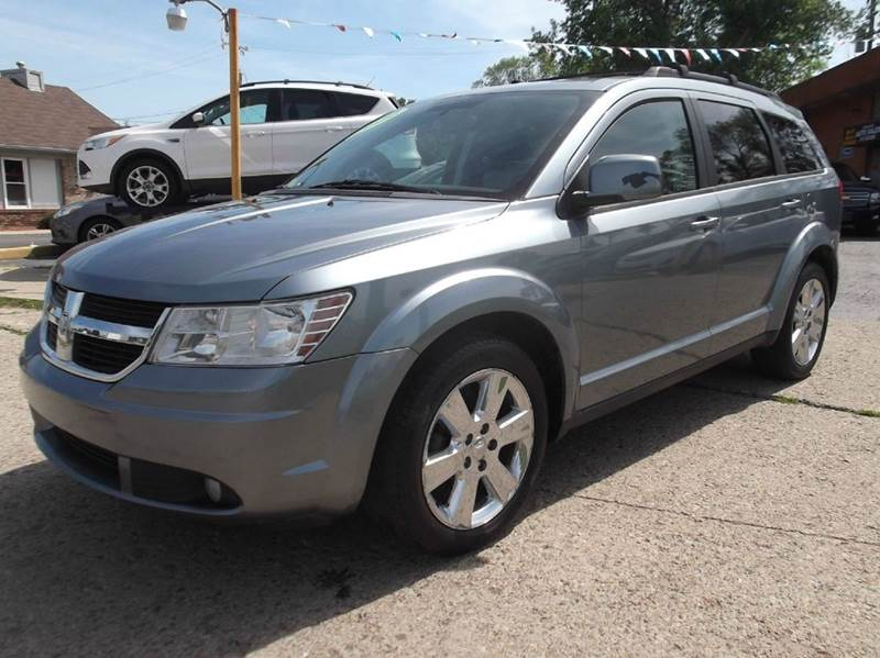 2009 DODGE JOURNEY SXT 4DR SUV gray runs drives and looks good very clean come and take it for