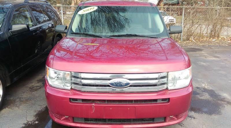 2009 FORD FLEX SE CROSSOVER 4DR red abs - 4-wheel airbag deactivation - occupant sensing passeng