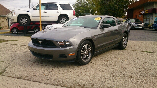 2010 FORD MUSTANG V6 PREMIUM 2DR COUPE gray abs - 4-wheel airbag deactivation - occupant sensing