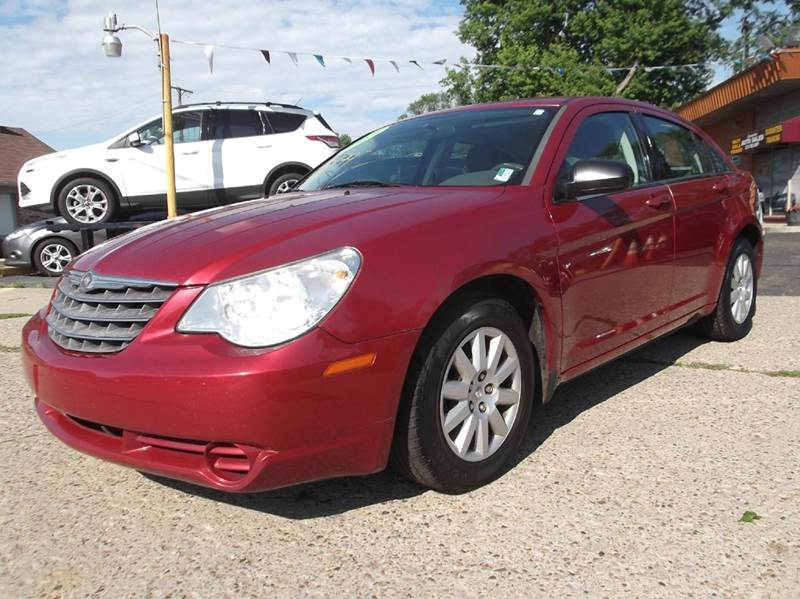 2007 CHRYSLER SEBRING BASE 4DR SEDAN red runs drives and looks very good clean in and out prem