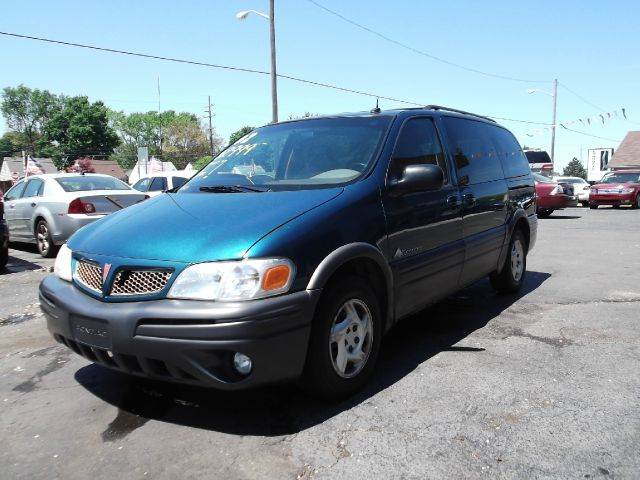 2002 PONTIAC MONTANA BASE FWD 4DR EXT MINIVAN blue runs drives and looks good very spacious cle