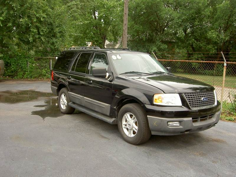 2006 FORD EXPEDITION XLT SPORT 4DR SUV 4WD black clean in and out third row 4wd selector - elect