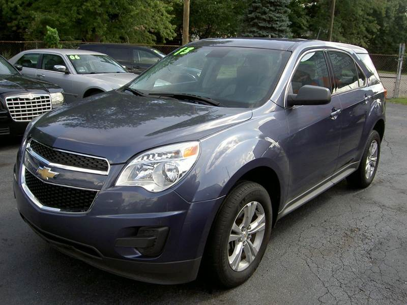 2013 CHEVROLET EQUINOX LS AWD 4DR SUV blue looks great  clean in and out  low miles runs great