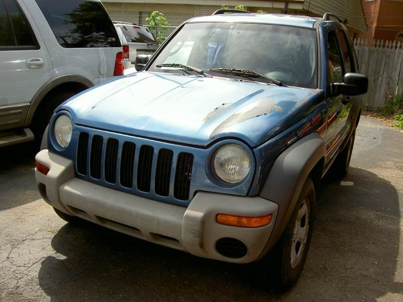 2003 JEEP LIBERTY SPORT 4DR 4WD SUV blue great running suv clean inside out internet special