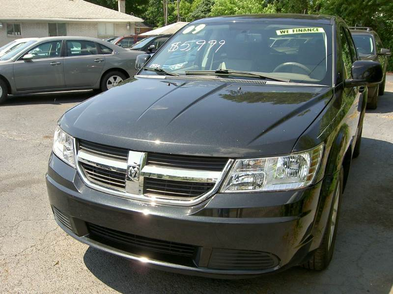 2009 DODGE JOURNEY SXT 4DR SUV black runs and drives great clean inside out ni mechanical issu