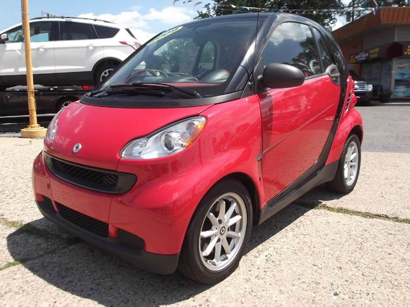 2009 SMART FORTWO PASSION 2DR HATCHBACK red runs drives and looks great  clean in and out al