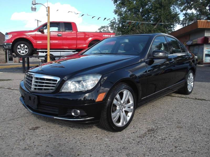 2010 MERCEDES-BENZ C-CLASS C300 SPORT 4MATIC AWD 4DR SEDAN black runs drives and looks great