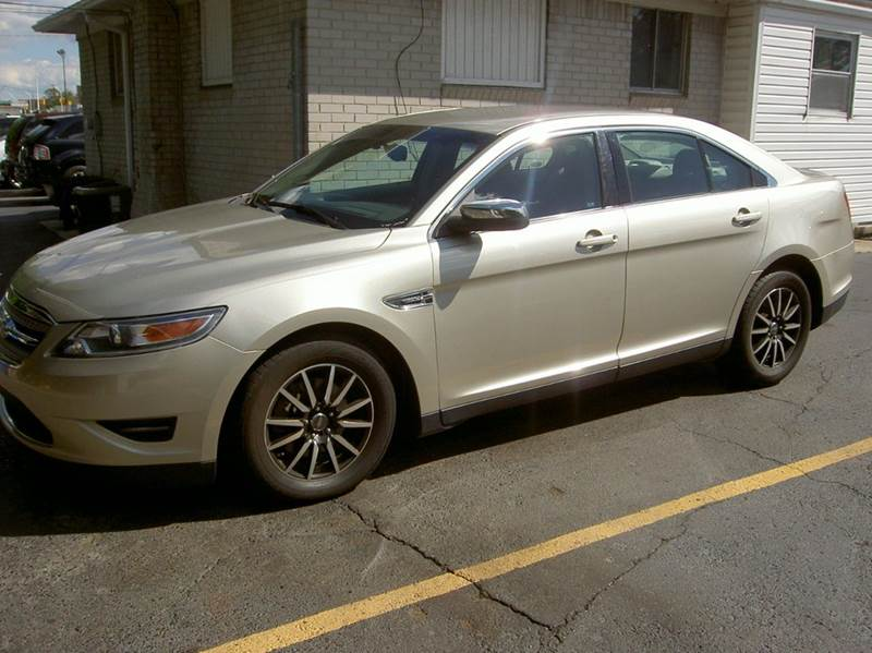 2010 FORD TAURUS LIMITED 4DR SEDAN gold 2-stage unlocking doors abs - 4-wheel air filtration a