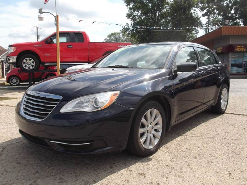 2013 CHRYSLER 200 TOURING 4DR SEDAN unspecified 2-stage unlocking doors abs - 4-wheel active he