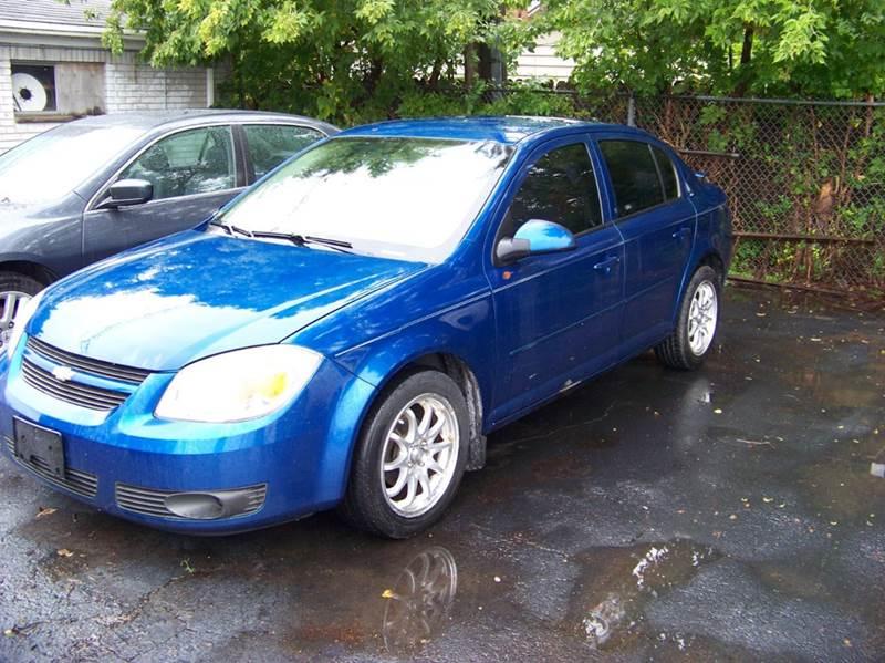 2005 CHEVROLET COBALT LS 4DR SEDAN blue runs and drives great  abs - 4-wheel clock cruise cont