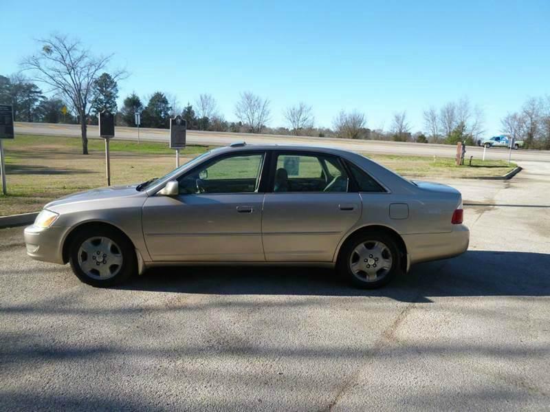 2003 Toyota Avalon XLS 4dr Sedan w/Bucket Seats - Chandler TX