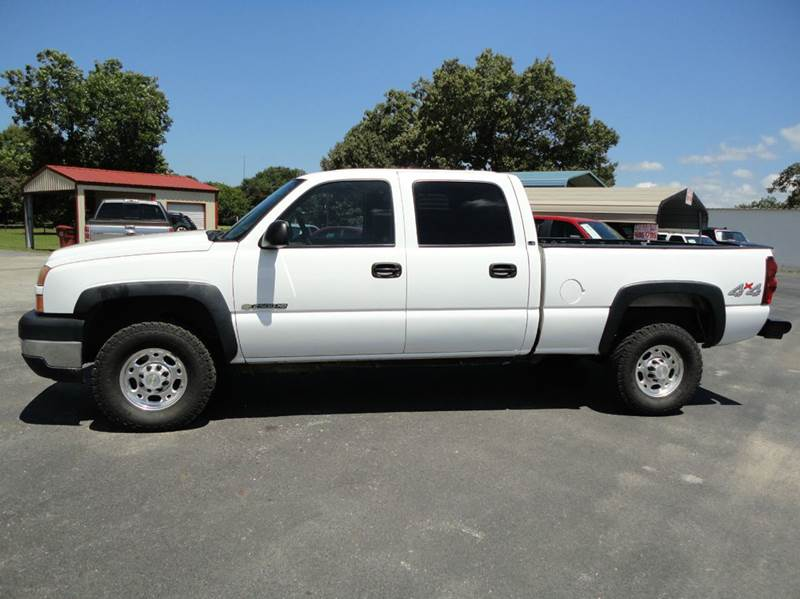 2006 Chevrolet Silverado 2500Hd LS 4dr Crew Cab 4WD SB In Tyler TX - Preferred Auto Sales