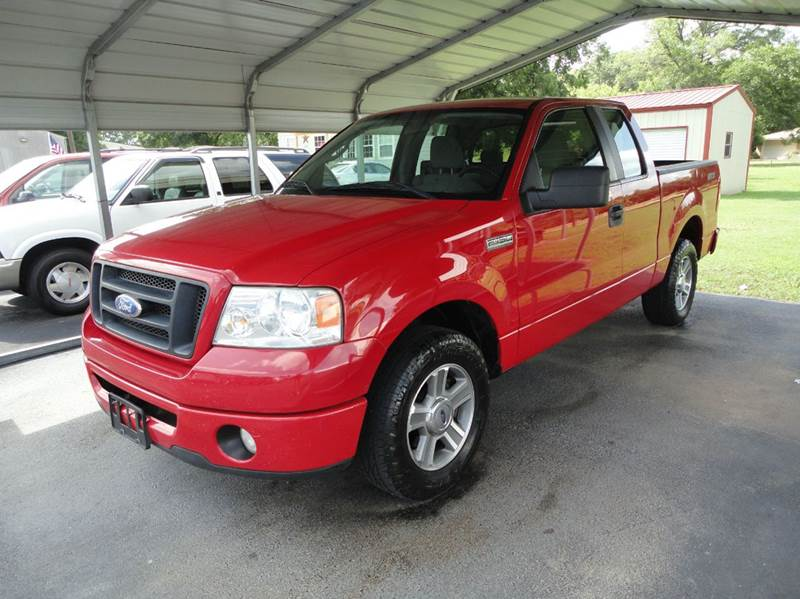 2008 ford f 150 4x2 stx 4dr supercab styleside 5 5 ft sb in chandler tx preferred auto sales. Black Bedroom Furniture Sets. Home Design Ideas