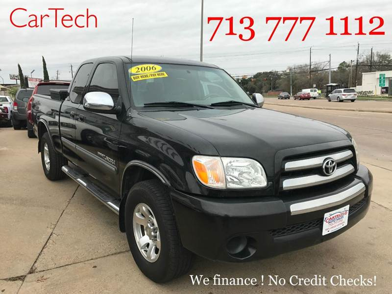 2006 toyota tundra sr5 4dr access cab sb 4 0l v6 5a in houston tx cartech auto sales. Black Bedroom Furniture Sets. Home Design Ideas