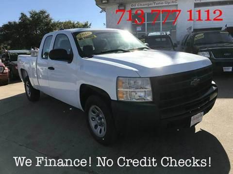 2010 Chevrolet Silverado 1500 For Sale Houston Tx