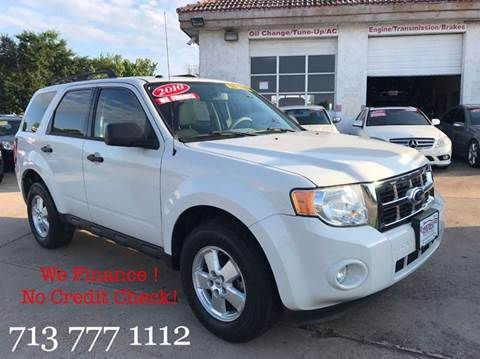 2010 Ford Escape for sale in Houston, TX