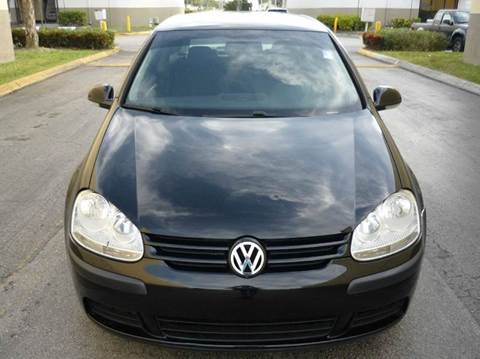 2009 Volkswagen Rabbit for sale in Hollywood, FL