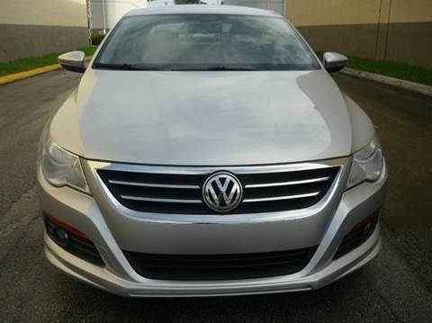2012 Volkswagen CC for sale in Hollywood, FL