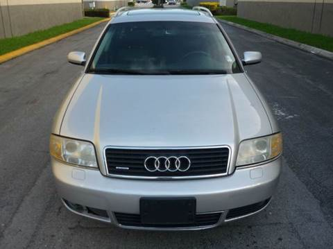 2004 Audi A6 for sale in Hollywood, FL