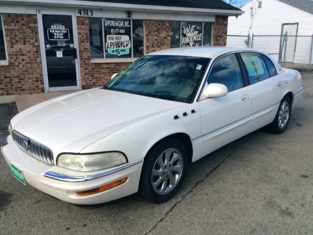 2005 buick park avenue ultra 4dr supercharged sedan in dayton oh afford a car. Black Bedroom Furniture Sets. Home Design Ideas