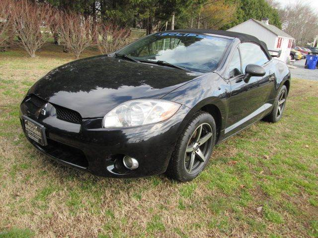 2007 mitsubishi eclipse spyder gt 2dr convertible 3 8l v6 6m in lewes de auto gallery. Black Bedroom Furniture Sets. Home Design Ideas