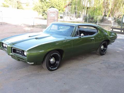 Worksheet. 1968 Pontiac GTO For Sale  Carsforsalecom