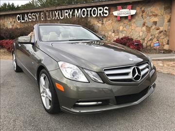 Mercedes Benz E Class For Sale Buford Ga