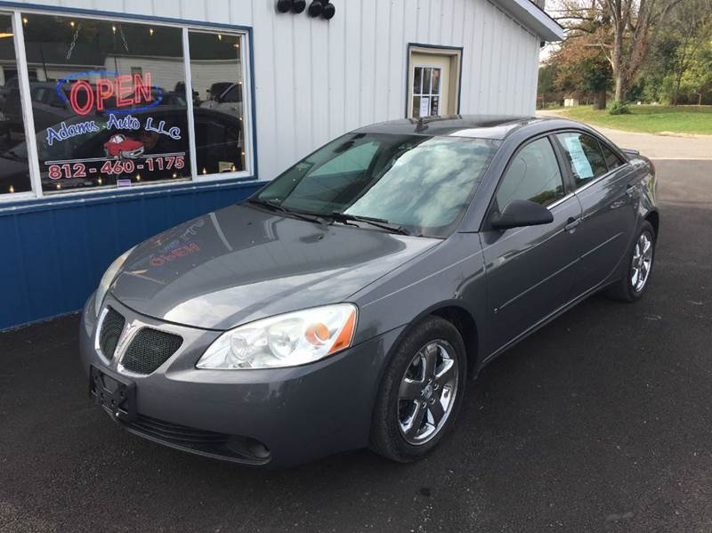 2008 Pontiac G6 Gt 4dr Sedan In Terre Haute In Adams