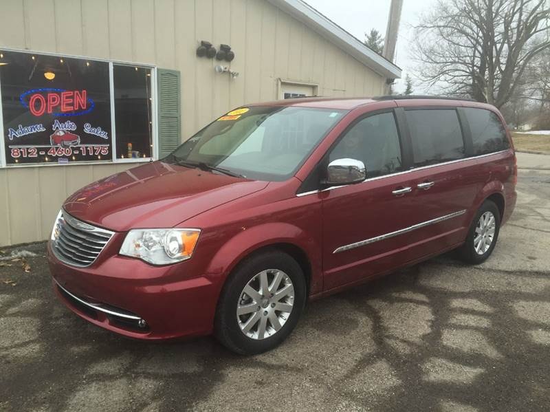2012 chrysler town and country touring l 4dr mini van in terre haute in adams auto llc. Black Bedroom Furniture Sets. Home Design Ideas
