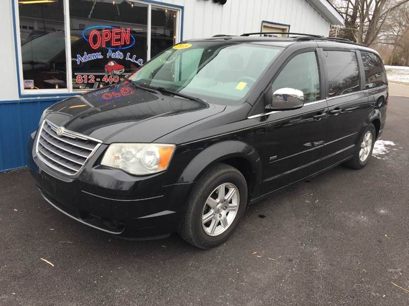 2008 chrysler town and country touring 4dr mini van in terre haute in adams auto llc. Black Bedroom Furniture Sets. Home Design Ideas