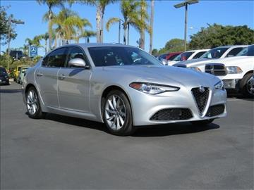 2017 Alfa Romeo Giulia for sale in Carlsbad, CA