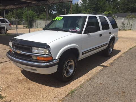 2001 Chevrolet Blazer For Sale  Carsforsalecom