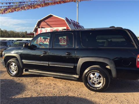 2001 Chevrolet Suburban for sale in Shreveport, LA