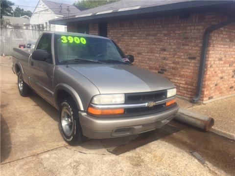 2001 Chevrolet S-10 for sale in Shreveport, LA