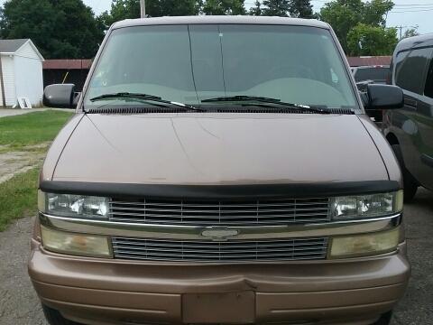 2003 Chevrolet Astro for sale in Tecumseh MI