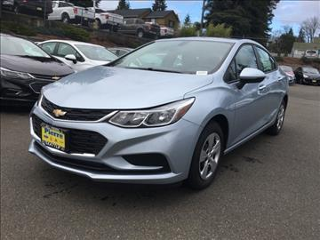 2017 Chevrolet Cruze for sale in Seattle, WA